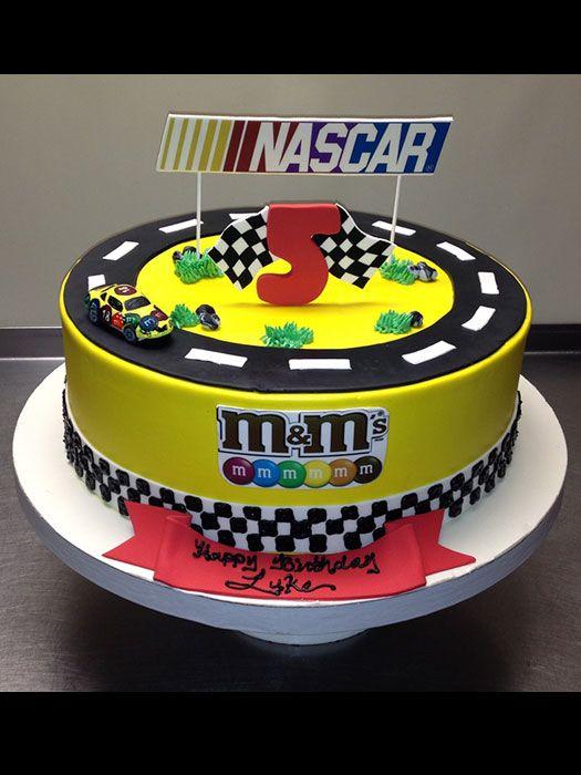 12 Photos of NASCAR Birthday Cakes Boys
