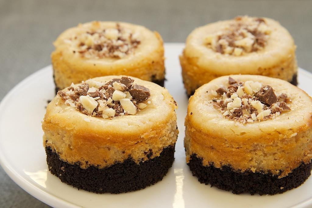 Peanut Butter Mini Cheesecakes Recipe