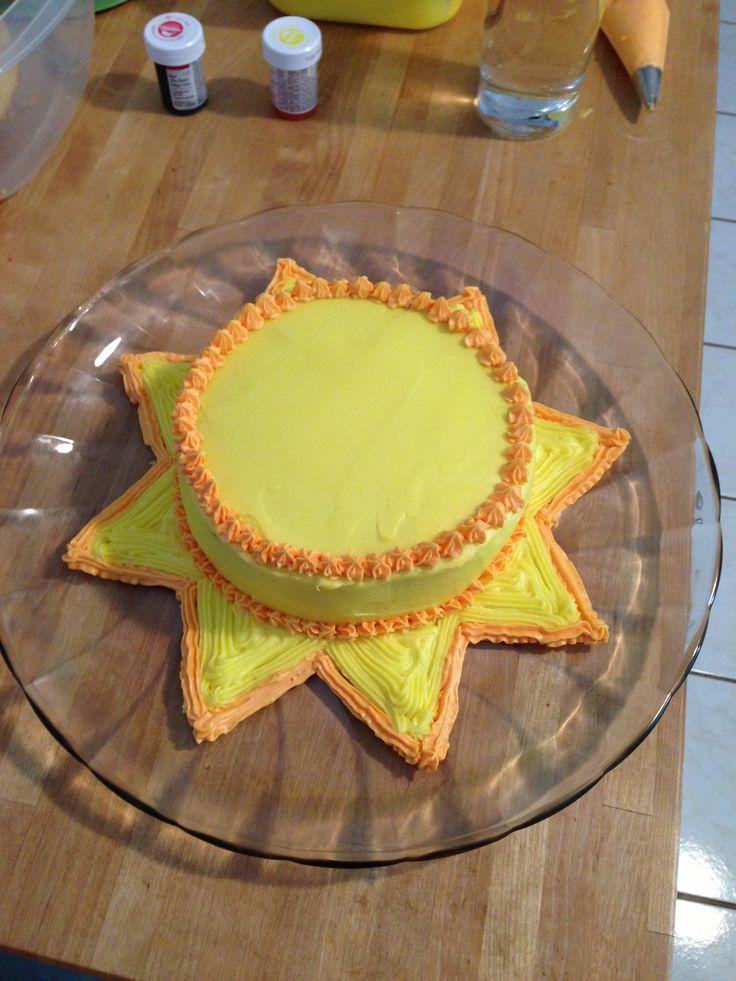 12 Photos of Sun Cakes Pinterest
