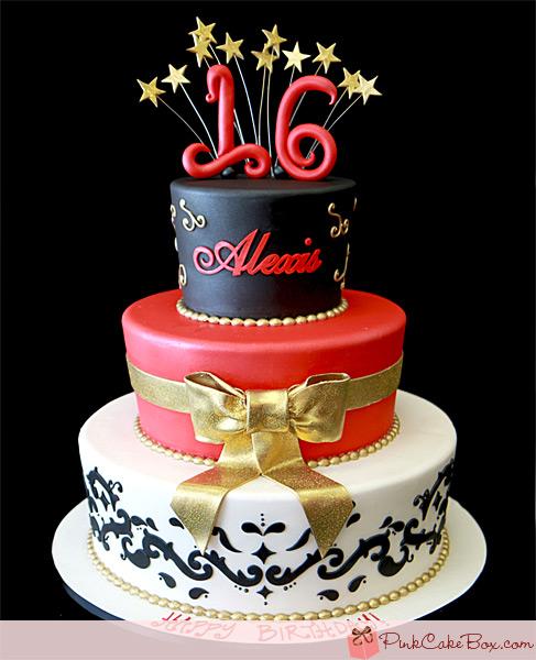 Sweet 16 Cake Idea