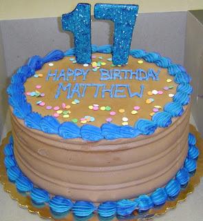 Teenage Boy Birthday Cake