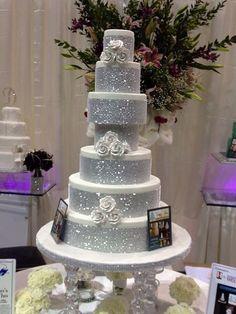 Wedding Cake with Bling