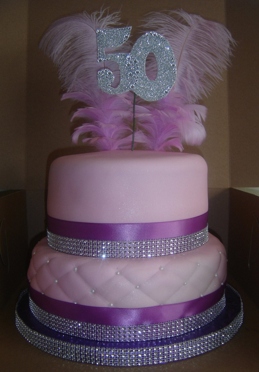 2 Tier Birthday Cakes with Bling