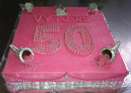 50th Birthday Sheet Cakes