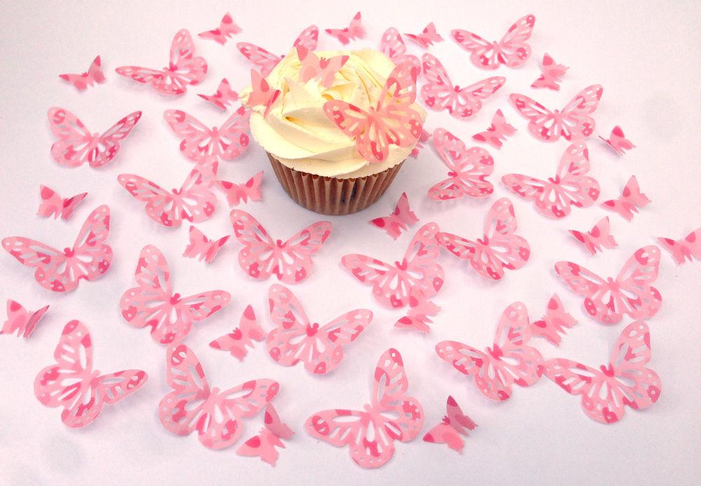 Cake Edible Wafer Paper Butterflies