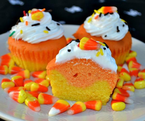 8 Photos of Turkeys With Candy Corn Cupcakes Halloween