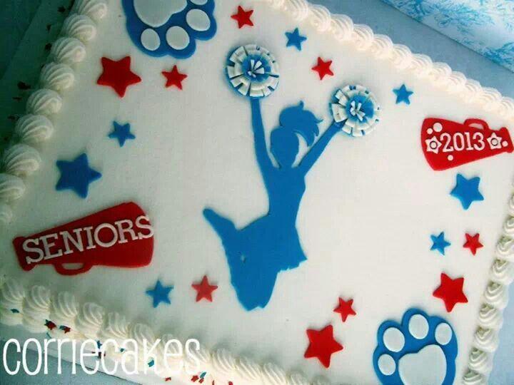 Cheerleader Sheet Cakes