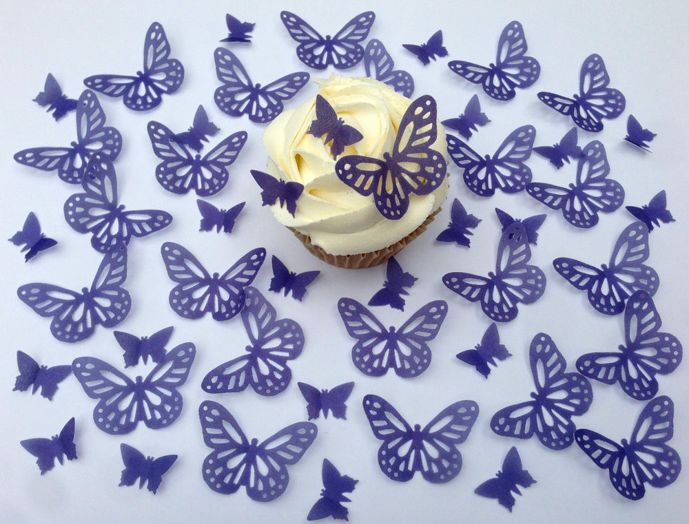 Cupcakes Edible Wafer Paper