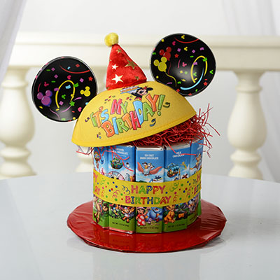 Disney Mickey Mouse Birthday Cake