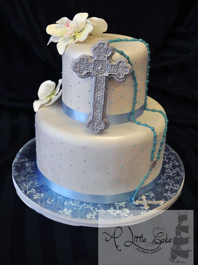 9 Photos of Confirmation Cakes Fondant