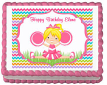 Girls Birthday Party Cake