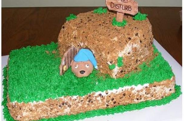 7 Photos of Easy Groundhog Day Cakes