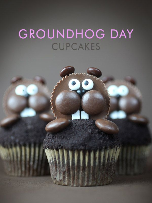 Groundhog Day Cupcakes Recipe