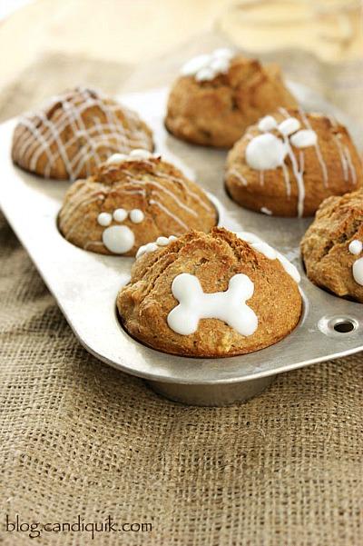 Homemade Dog Treat Cupcakes Recipes