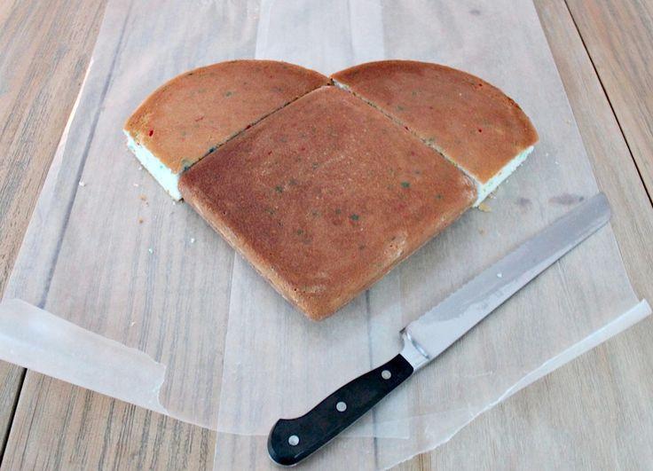 How to Make Heart Shaped Cake