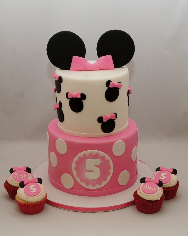 7 Photos of Minnie Mouse Cakes And Mario