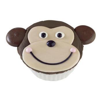 Monkey Face Cupcakes