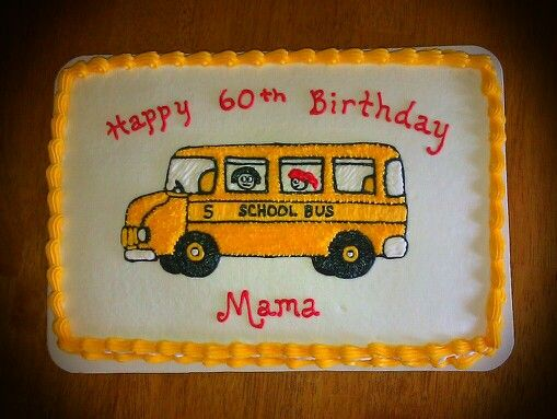 6 Photos of School Sheet Cakes