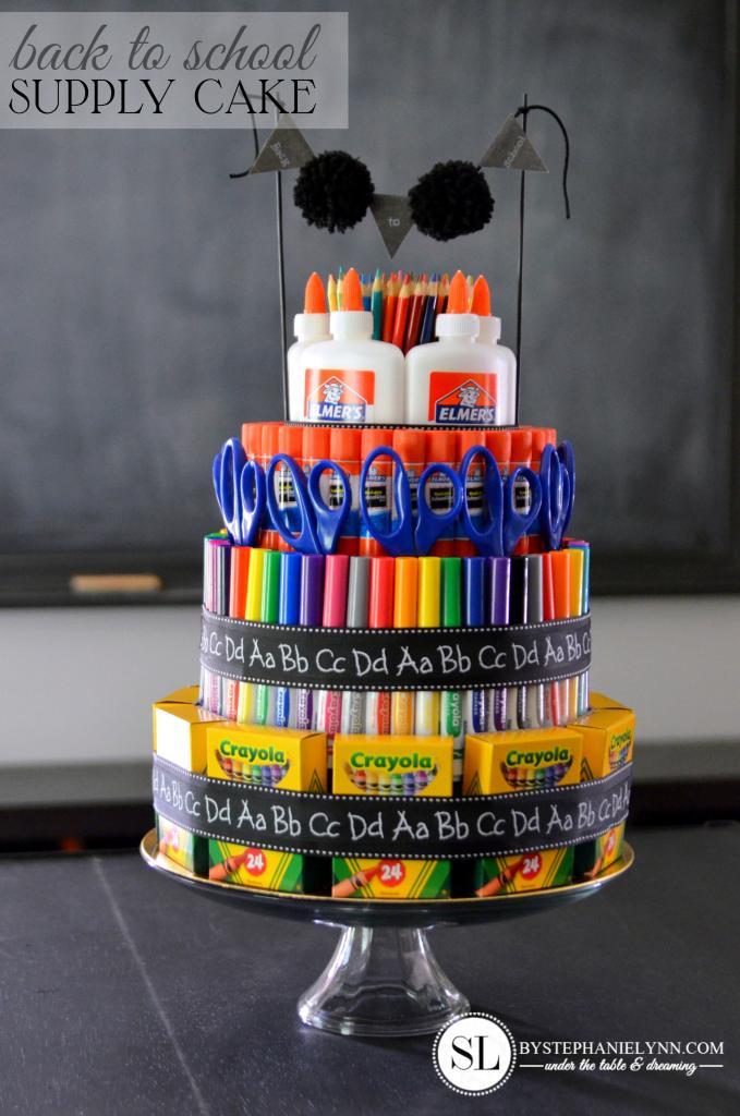 School Supplies Teacher Appreciation Gift Ideas