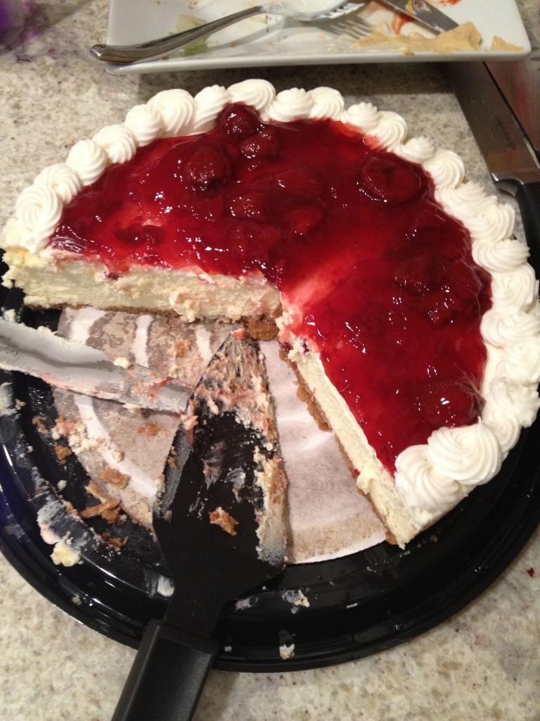 Strawberry Cheesecake From Costco
