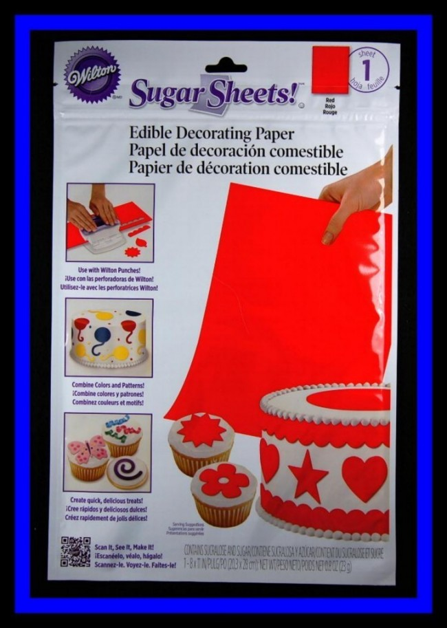 Sugar Sheets Edible Decorating Paper