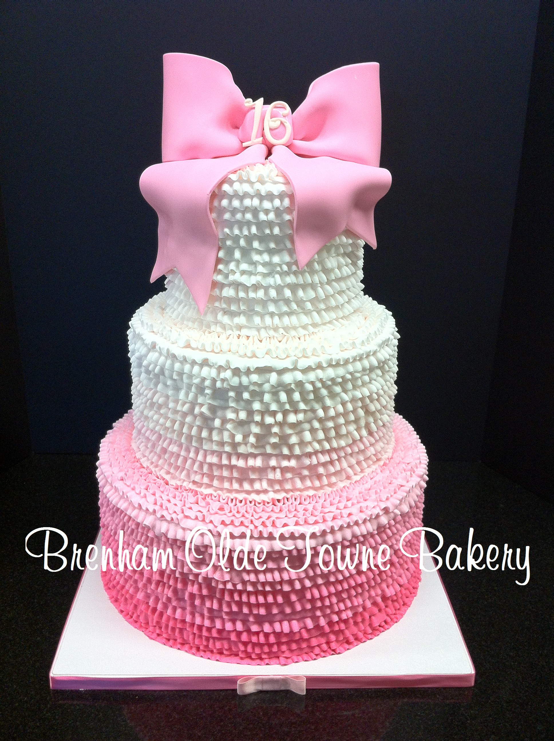 9 Photos of Traditional Buttercream Cakes Sweet 16