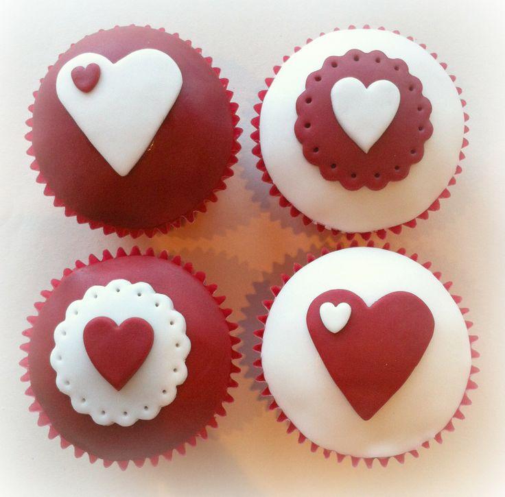 Valentine Cupcake Cake Pinterest