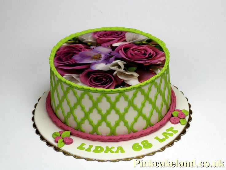 65th Birthday Cake Ideas for Women