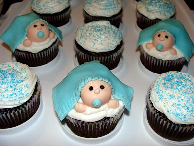 Baby Boy Shower Cupcake Ideas