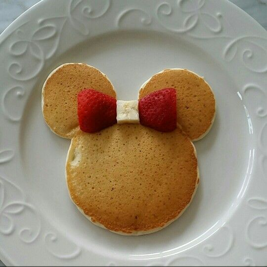 Birthday Mickey Mouse Pancakes