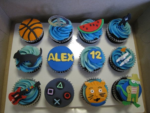 Boys Birthday Cupcake Ideas