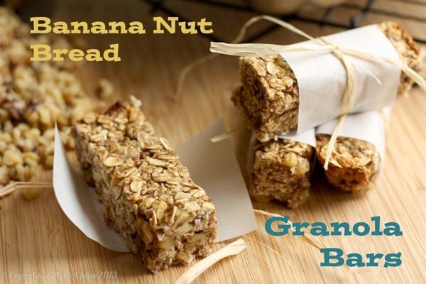Bread Banana Nut Granola Bars