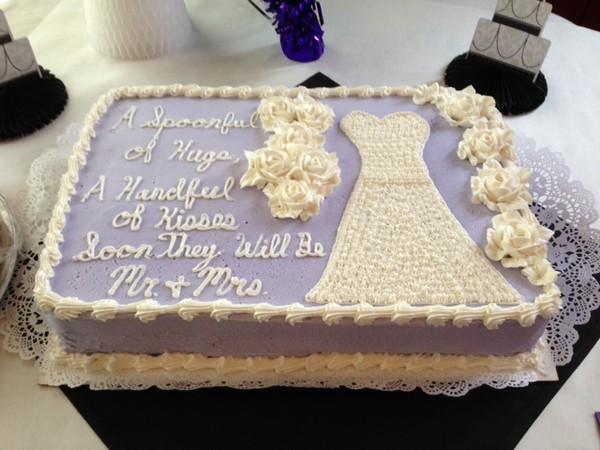 Bridal Shower Cake Rochester NY