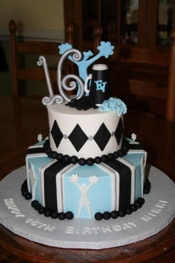 Cheerleading Cheerleader Cake