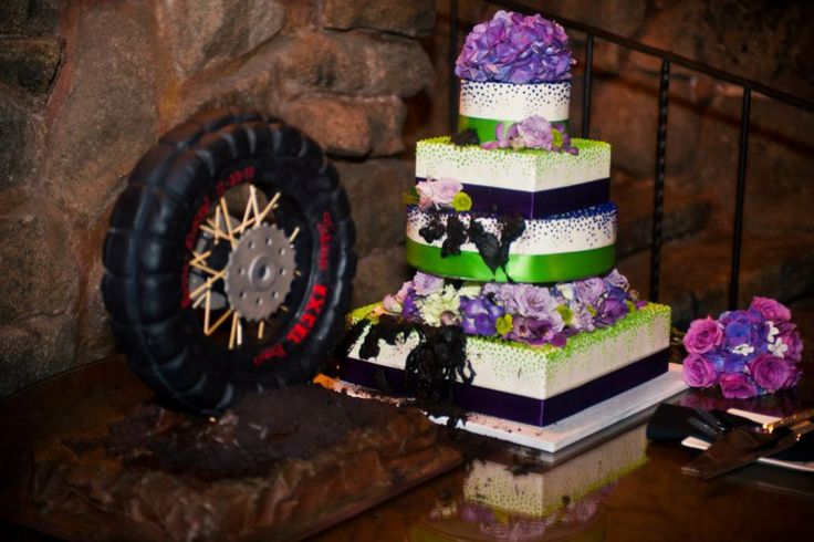 Dirt Bike Grooms Cake
