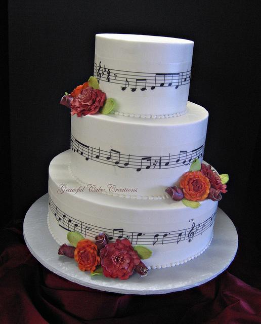Elegant Wedding Cake Music
