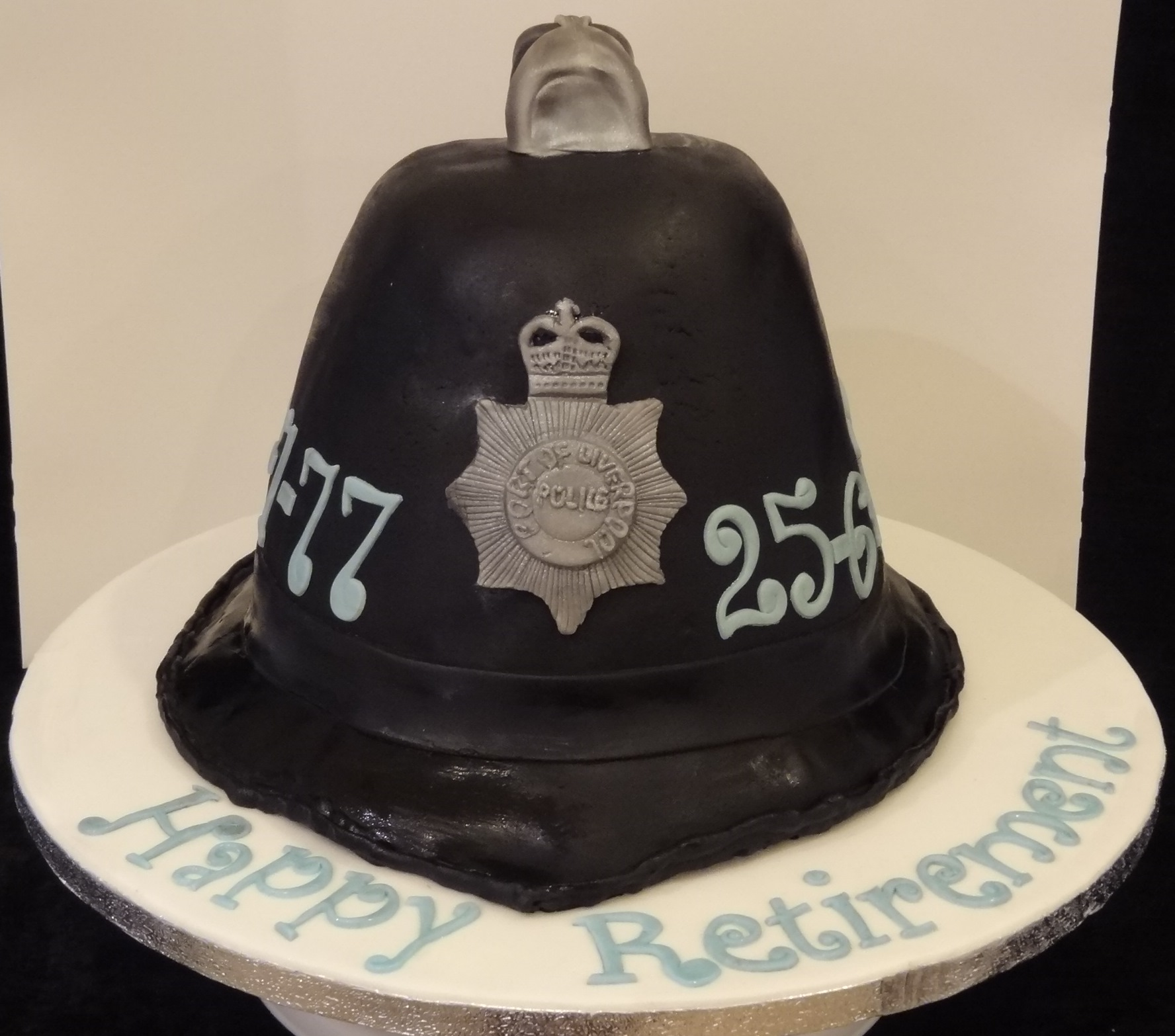 Funny Police Retirement Cakes