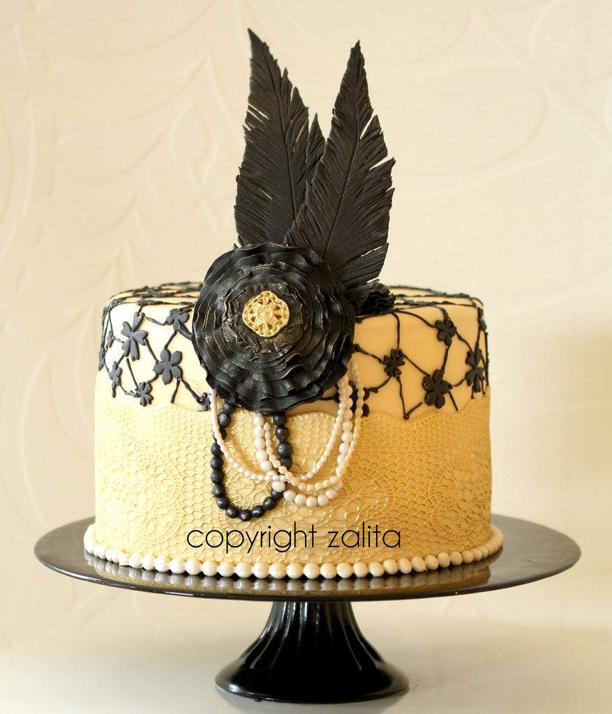 9 Photos of The Great Gatsby Inspired Cakes