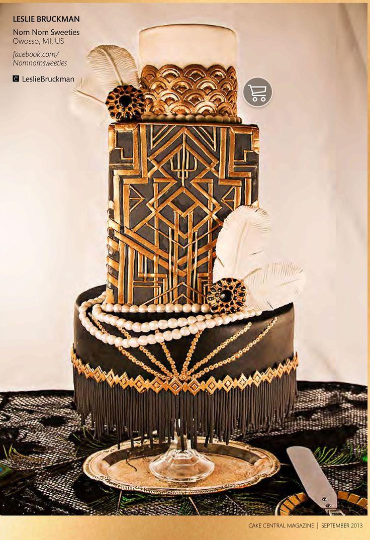 Great Gatsby Cake Ideas