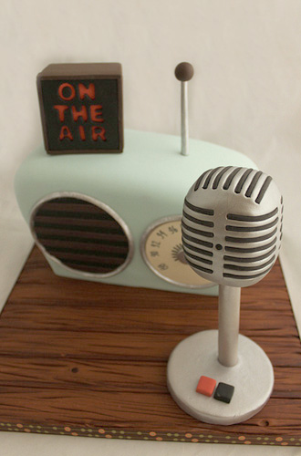 Happy Birthday Radio Cake