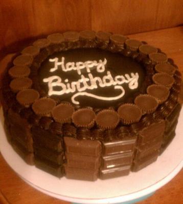 Homemade Chocolate Birthday Cake