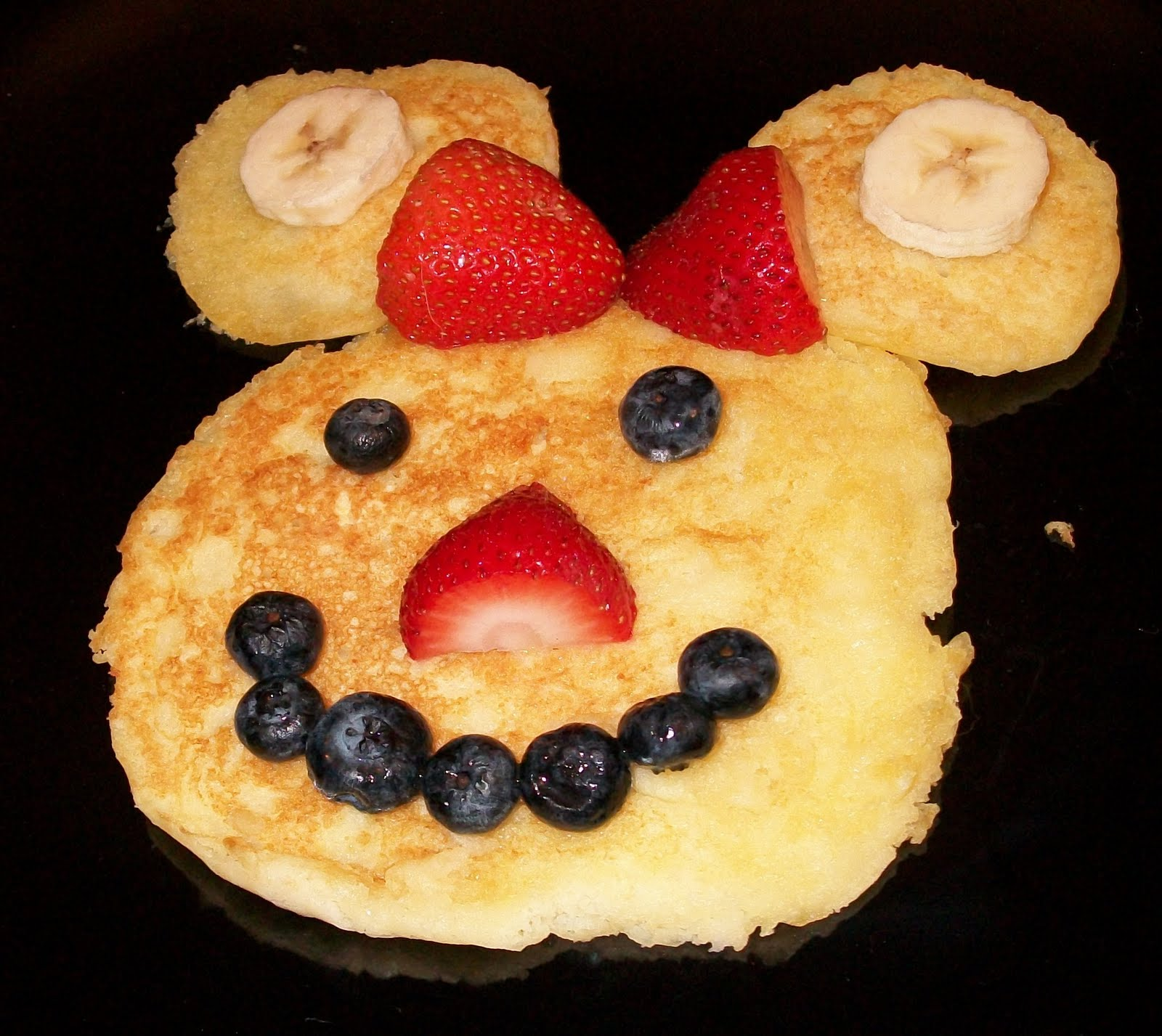 Mickey Minnie Mouse Breakfast