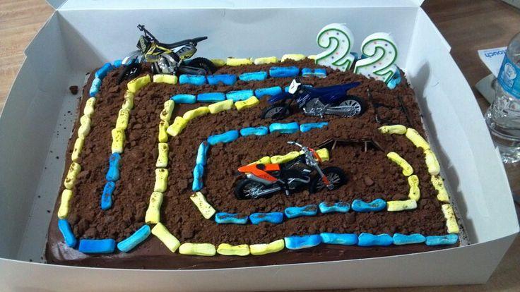 Motocross Grooms Cake