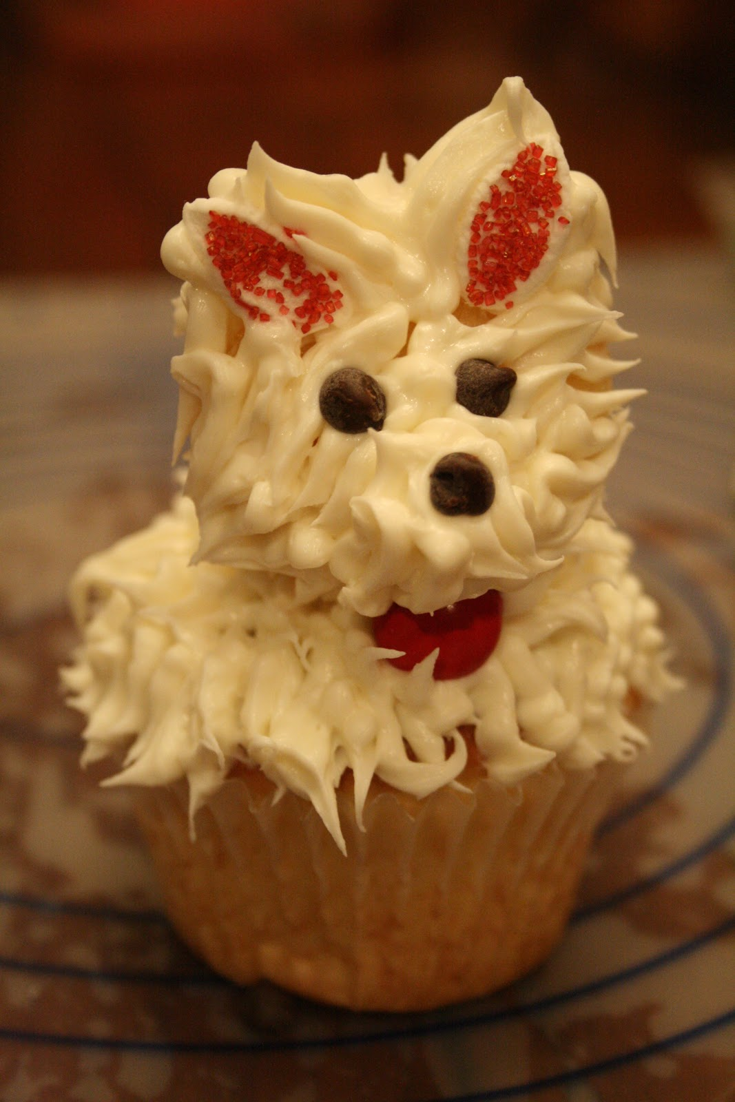 Puppy Dog Cupcakes