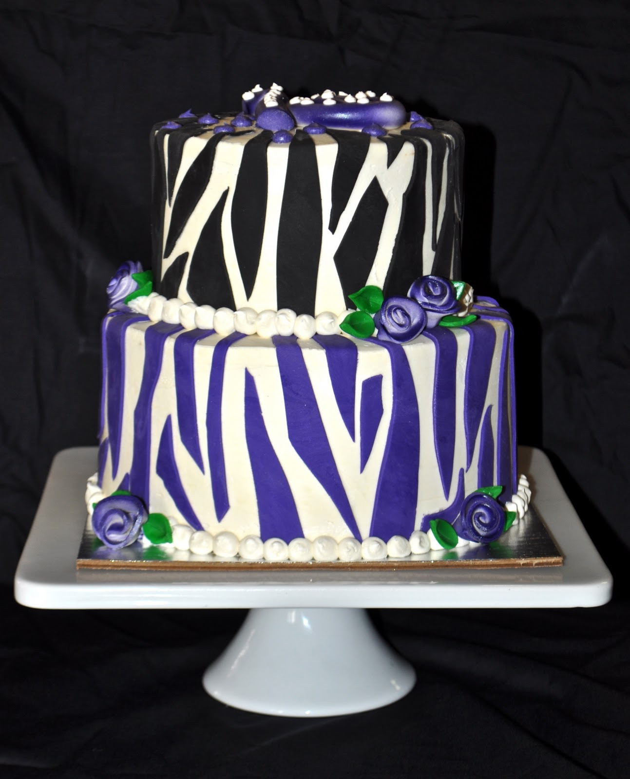 Purple Sweet 16 Cake