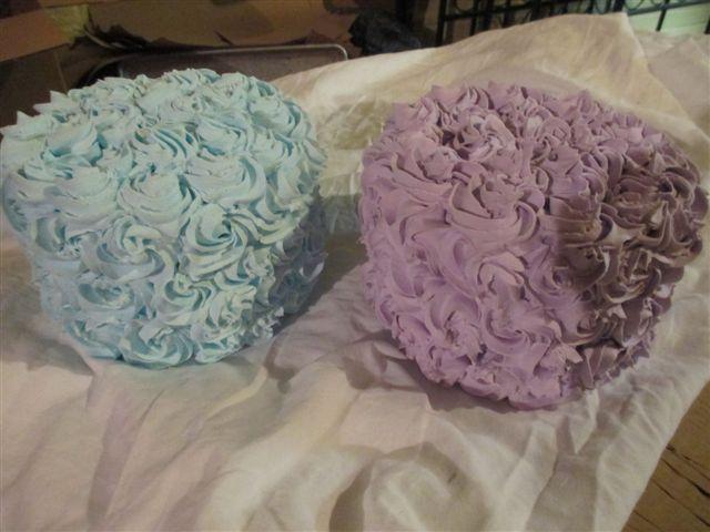 Victorian Rose Cake