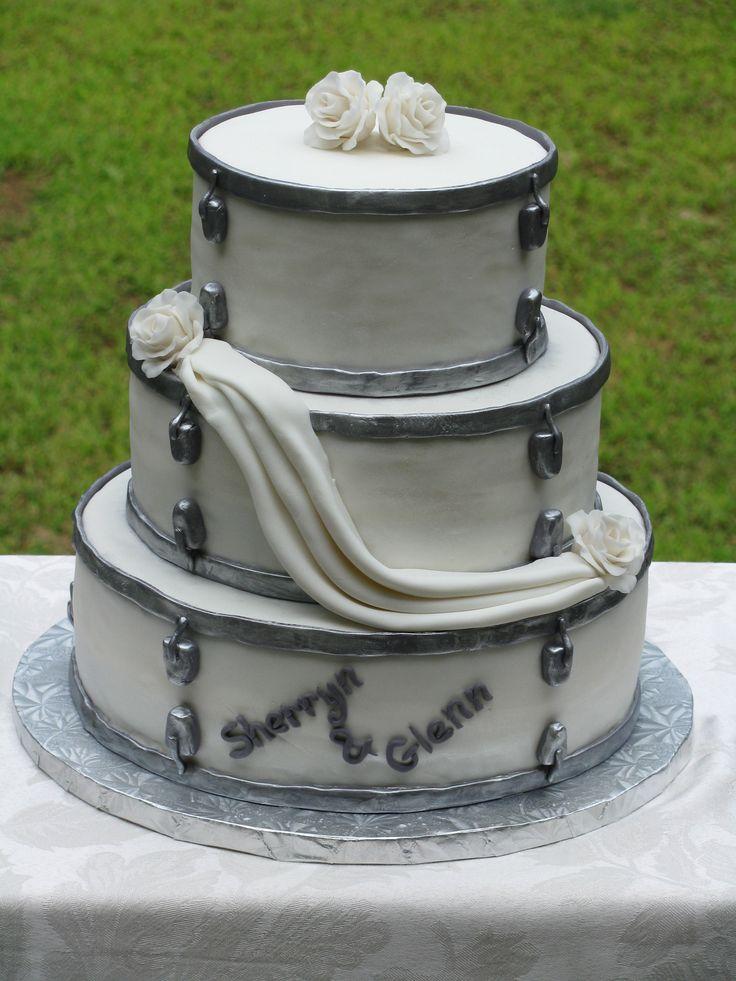 Wedding Cake Drum Set