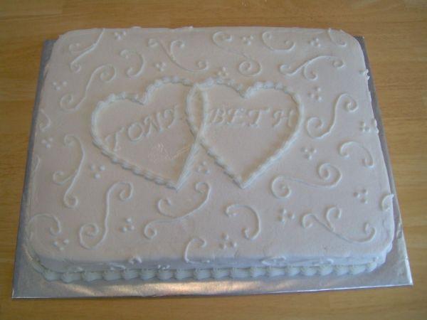 Wedding Sheet Cake