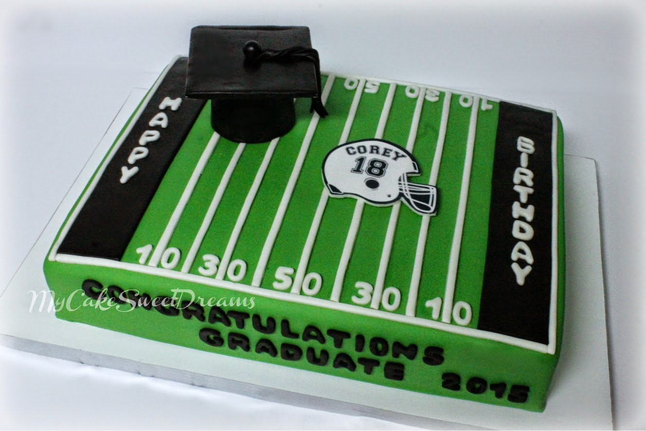 18th Birthday Graduation Cake