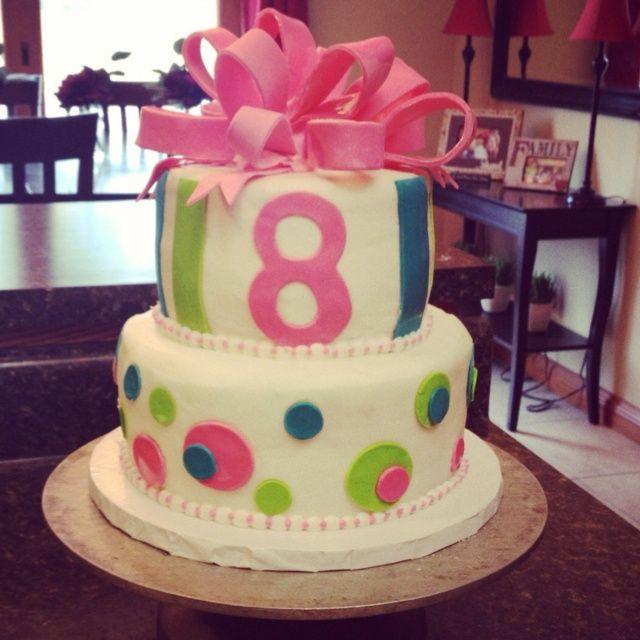 8 Year Old Girl Birthday Cake Ideas